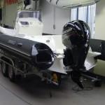 Nieuwe Brig 650 met Mercury 150Pk