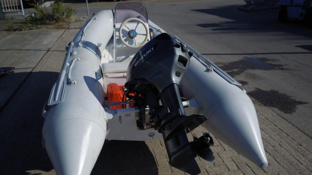 Brig Falcon 360 met Suzuki 20pk