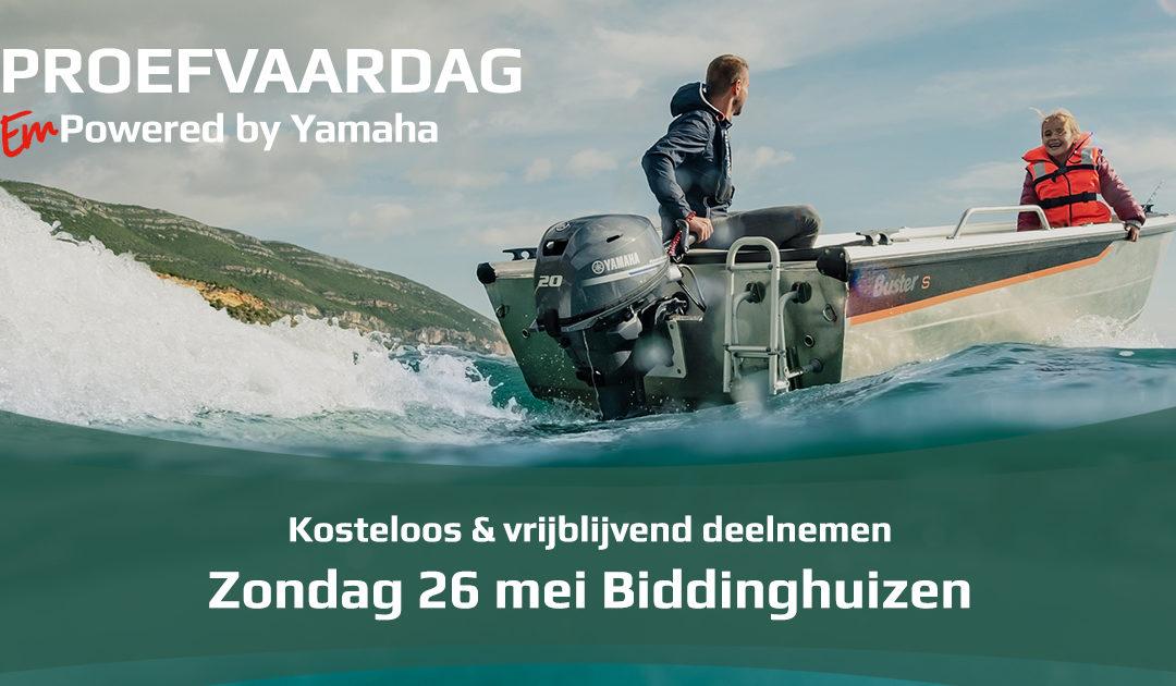 Yamaha proefvaardagen – Zondag 26 Mei 2019