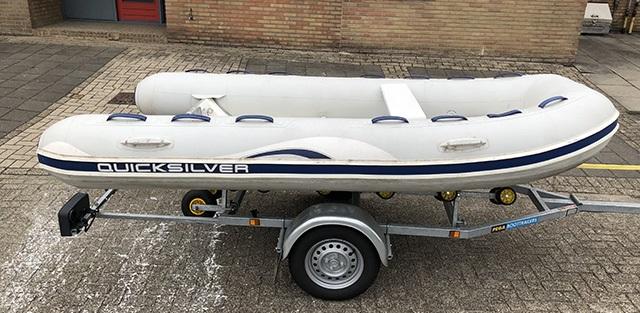 Quicksilver oceanrunner 340 RIB